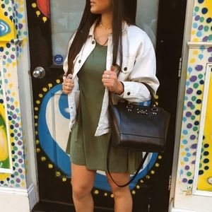 Olive Urban Outfitters T-shirt dress